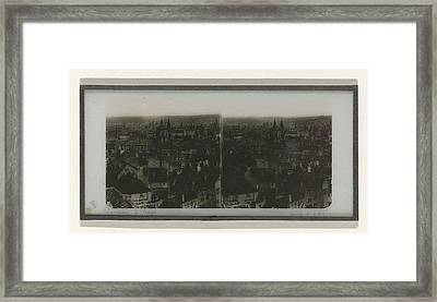 Panorama Of Prague, May Possibly Ferrier Pere Et Fils Framed Print by Artokoloro