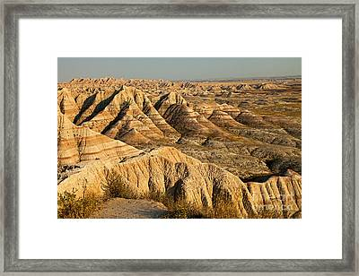 Panorama Point Badlands National Park Framed Print