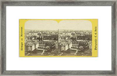 Panorama To The Midi, Charles Gerard Framed Print by Quint Lox