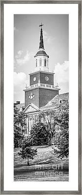 Panorama University Of Cincinnati Vertical Picture Framed Print by Paul Velgos