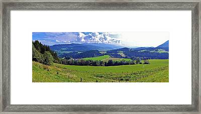 Panoramic Landscape Framed Print by  Jose Carlos Fernandes De Andrade