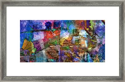 Panoramic Framed Print by Lutz Baar