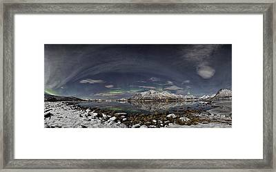 Panoramic View Framed Print by Frank Olsen