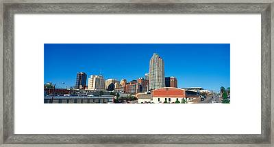 Panoramic View Of Memphis Tennessee Framed Print by Panoramic Images