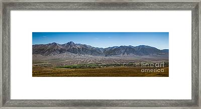 Panoramic Of Mackay Framed Print by Robert Bales