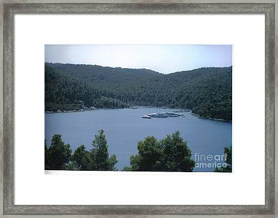 Panormos Beach Framed Print by Katerina Kostaki