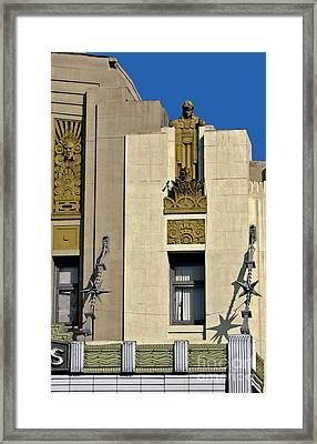 Pantages Theater Framed Print by Gregory Dyer
