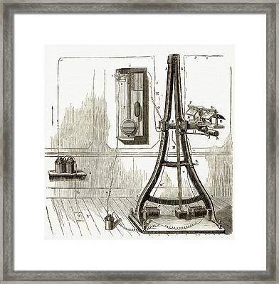Pantelegraph Framed Print by Sheila Terry