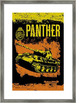 Panther Ausf A Framed Print by Philip Arena