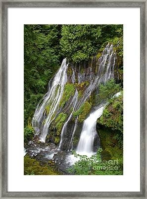 Panther Creek Falls 2- Washington Framed Print