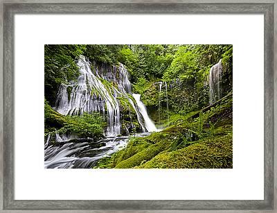 Panther Creek Falls Framed Print by Brian Bonham