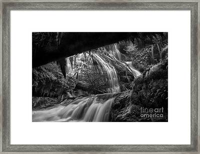 Panther Falls II Framed Print by Keith Kapple