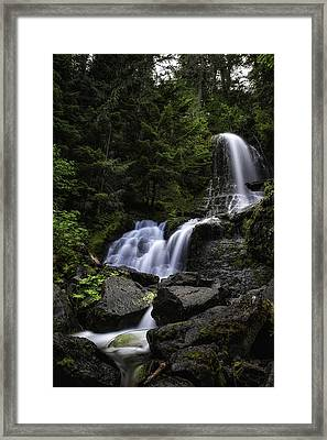 Panther Falls Framed Print