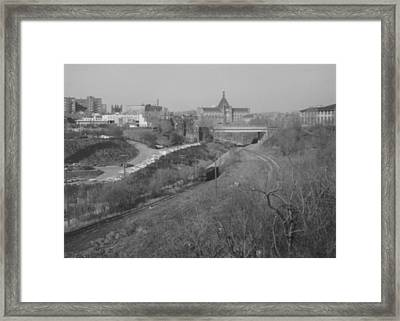 Panther Hollow Pittsburgh Pa Framed Print by Joann Renner