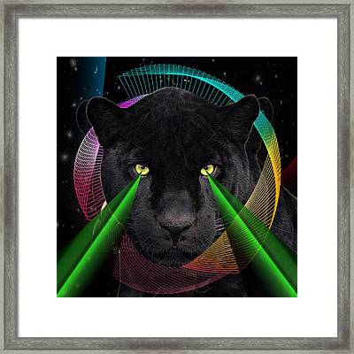 Panther Framed Print by Mark Ashkenazi