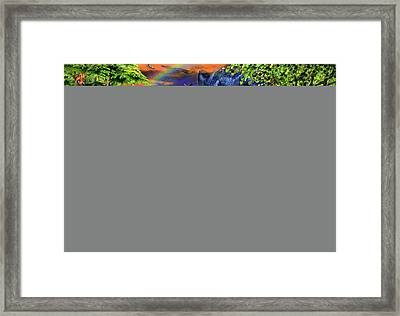 Panther Twillight Framed Print by Adrian Chesterman