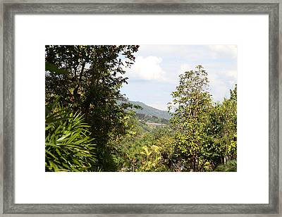 Panviman Chiang Mai Spa And Resort - Chiang Mai Thailand - 011315 Framed Print by DC Photographer