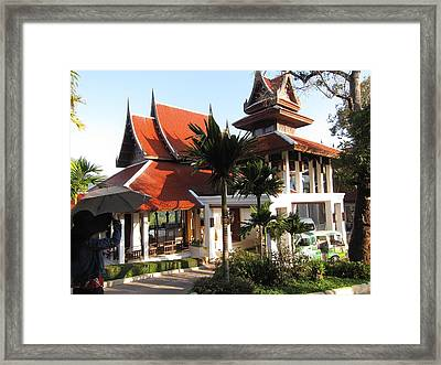 Panviman Chiang Mai Spa And Resort - Chiang Mai Thailand - 011383 Framed Print by DC Photographer