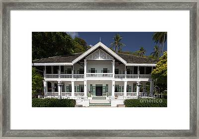 Panwa House - Thailand Framed Print by Pete Reynolds