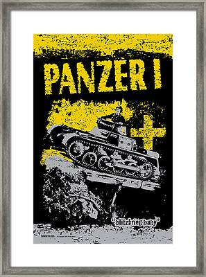 Panzer I Framed Print by Philip Arena