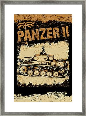 Panzer II Framed Print by Philip Arena
