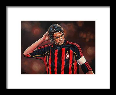 Italian Football Framed Prints