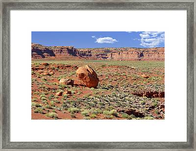 Papa Was A Rolling Stone Framed Print by Christine Till