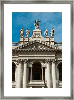 Papal Archbasilica Of Saint John Lateran Framed Print