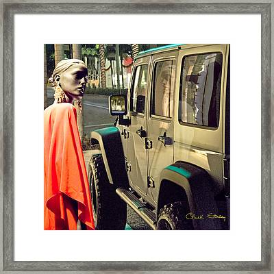 Paparazzi Framed Print by Chuck Staley