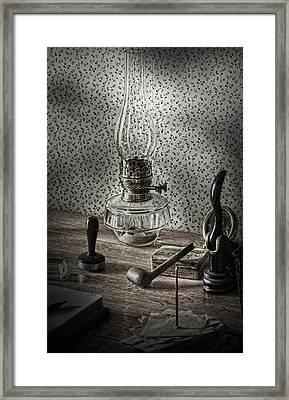 Papas Desks  Framed Print by The Artist Project