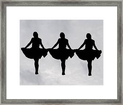 Paper Dolls Framed Print