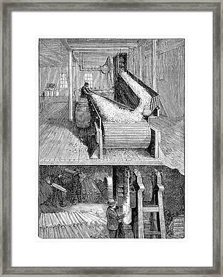 Paper Mill Industry Framed Print