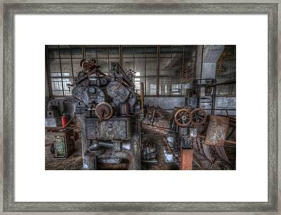 Paper Mill Framed Print by Nathan Wright