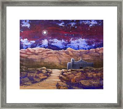 Paper Moon Framed Print by Jack Malloch