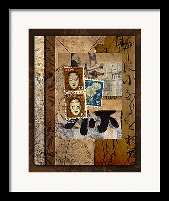 Collect Mixed Media Framed Prints