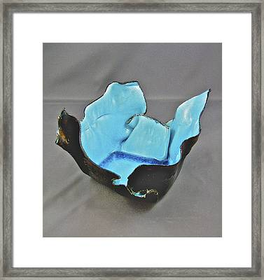 Paper-thin Bowl  09-001 Framed Print