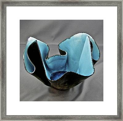 Paper-thin Bowl  09-003 Framed Print
