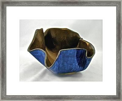 Paper-thin Bowl  09-005 Framed Print by Mario Perron