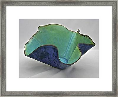 Paper-thin Bowl  09-006 Framed Print