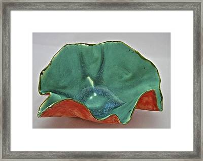 Paper-thin Bowl  09-007 Framed Print by Mario Perron