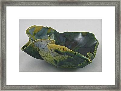 Paper-thin Bowl 09-015 Framed Print