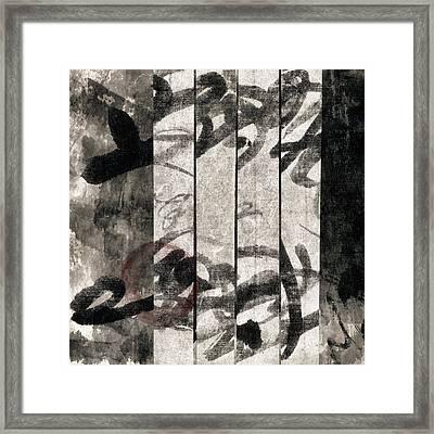Paper Walls Framed Print by Carol Leigh