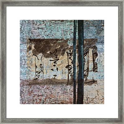 Papers And Inks Framed Print by Carol Leigh