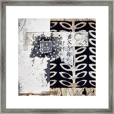 Papers Framed Print by Carol Leigh