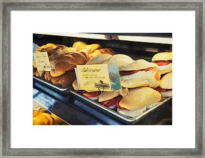 Pappalecco Salmoncino Framed Print by Tanya Harrison