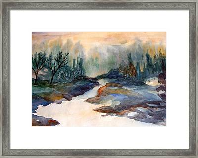 Pappa's Place Framed Print