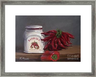 Paprika Framed Print