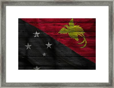 Papua New Guinea Framed Print by Joe Hamilton