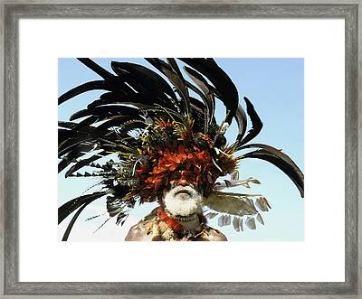 Papua New Guinea, Portrait Framed Print by Jeremy Hunter
