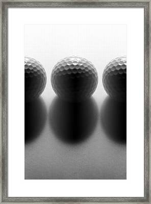 Par 3...golf Framed Print